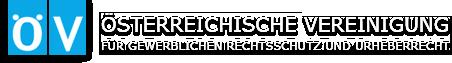 Logo ÖV - Österreichische Vereinigung für gewerblichen Rechtsschutz und Urheberrecht